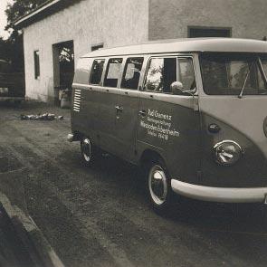 VW-Bus-Firmenwagen 1960er
