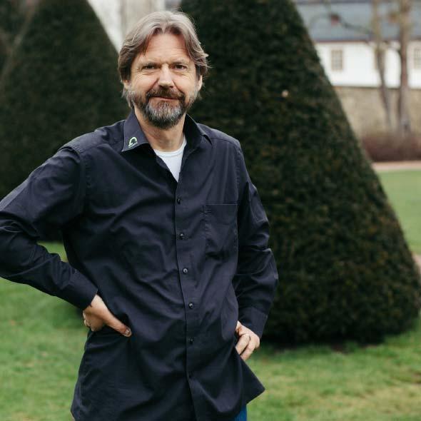 Roland Gramenz, Geschäftsführer Gramenz GmbH, Gartenbau und Landschaftsbau