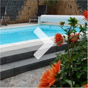 Ein Garten im Pool-Glück - Hausgarten Trebur